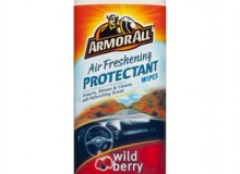 ARMOR ALL PROTECTANT WIPES WILDBERRY 6/25CT