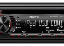 KENWOOD KDC-158U RADIO FM/USB/CD MP3/AUX