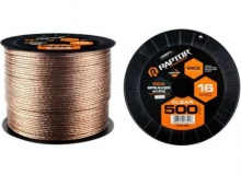 METRA CABLE HP 16GA CLEAR 500FT #RSW16-500